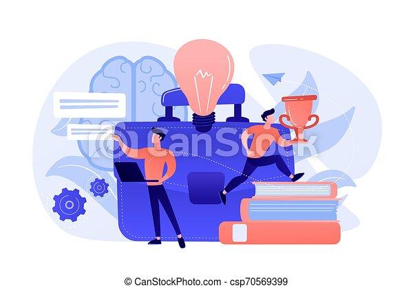 concept, vecteur, illustration., entrepreneurship - csp70569399