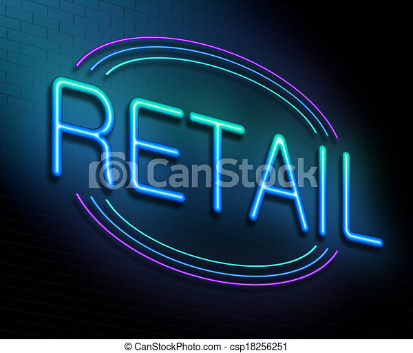 concept., vendita dettaglio - csp18256251