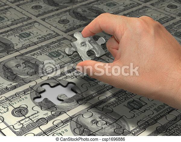 Concept Wealth - csp1696886