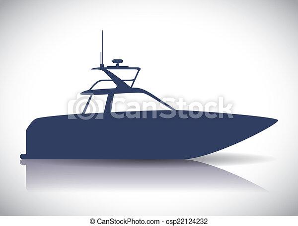 conception, bateau - csp22124232