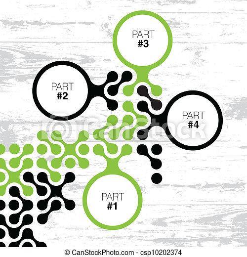 conception, retro, eps8, interface, vecteur, template. - csp10202374