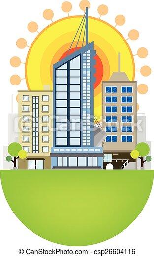 conception urbaine, scène - csp26604116