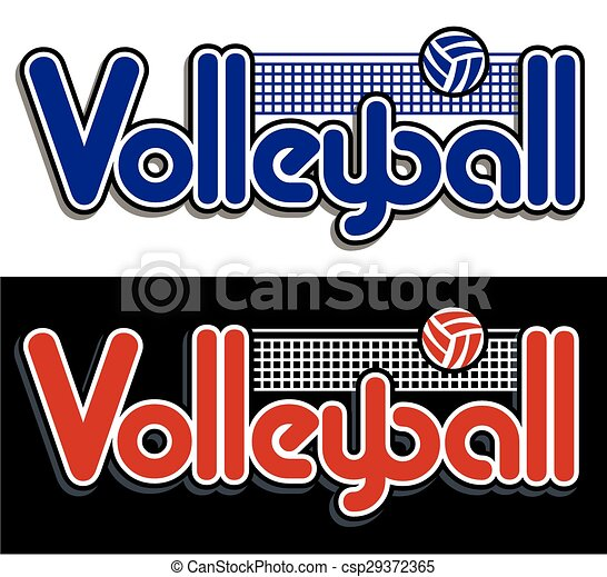 conception, volley-ball - csp29372365