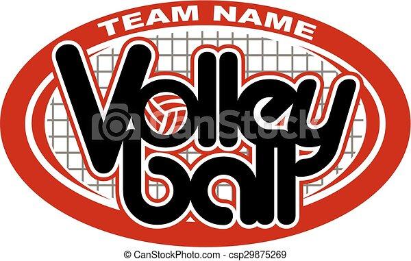 conception, volley-ball - csp29875269