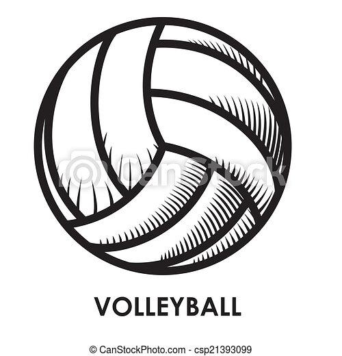 conception, volley-ball - csp21393099