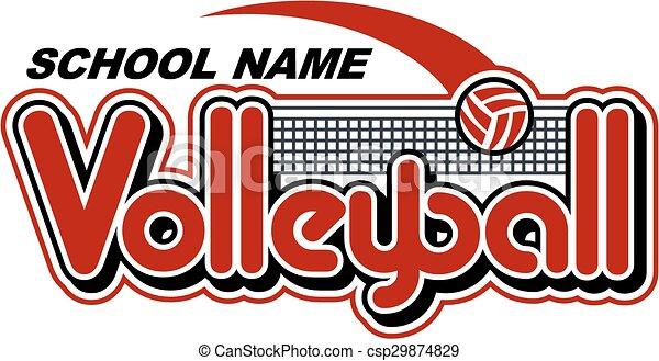 conception, volley-ball - csp29874829