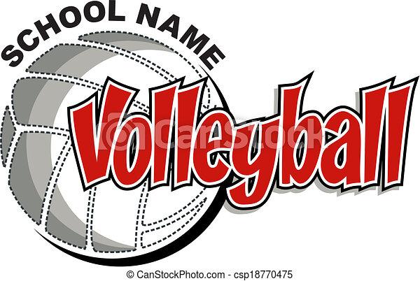 conception, volley-ball - csp18770475
