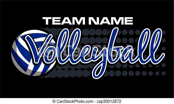 conception, volley-ball - csp30012872