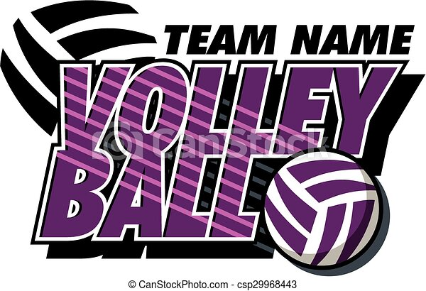 conception, volley-ball - csp29968443