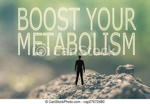 concepto, alza, su, metabolism - csp27672480