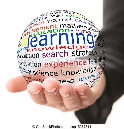 Concepto el aprendizaje - csp15387811