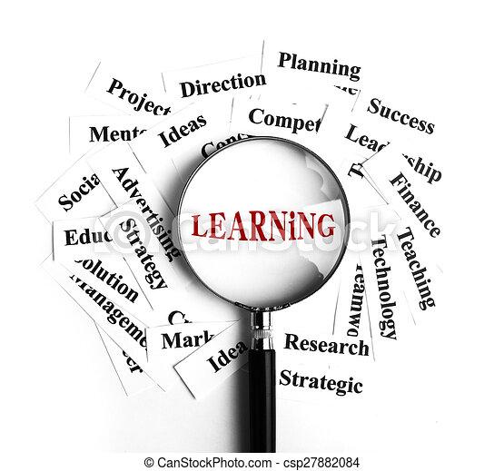 Aprendiendo concepto - csp27882084