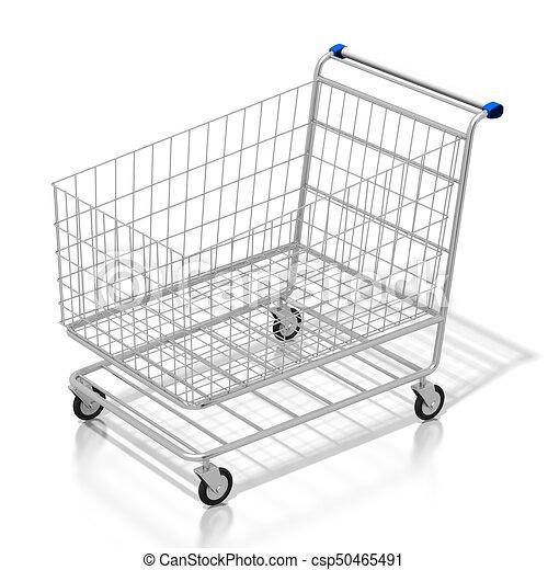 El concepto del carrito 3D - csp50465491