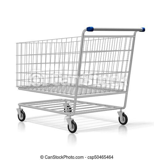 El concepto del carrito 3D - csp50465464