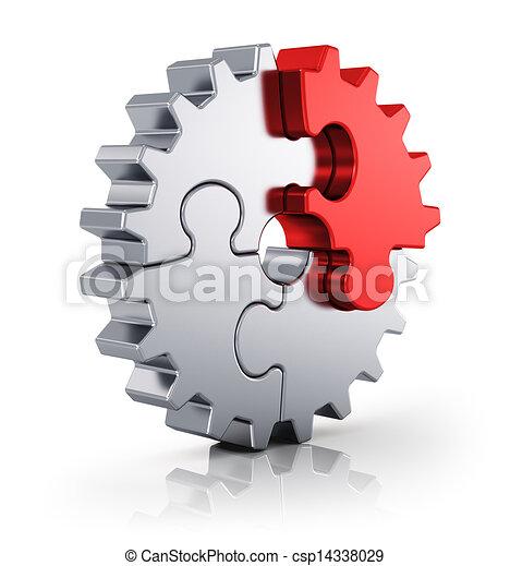 Creatividad empresarial y concepto de éxito - csp14338029