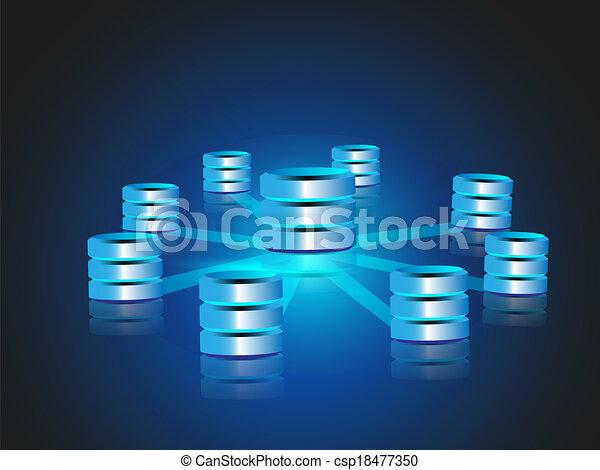 concepto, datos, encerrar - csp18477350
