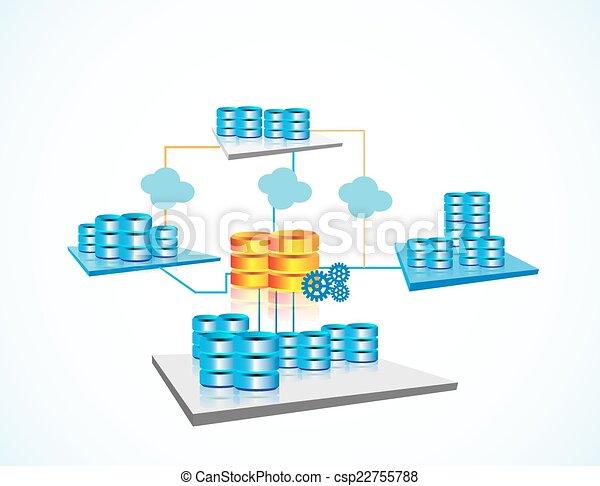 concepto, datos, encerrar - csp22755788
