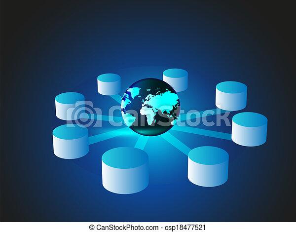 concepto, datos, encerrar - csp18477521