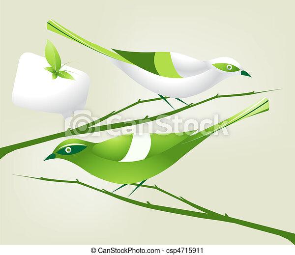 Un concepto de ecología - csp4715911