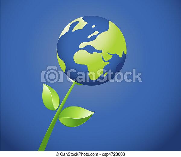 Un concepto de ecología - csp4723003