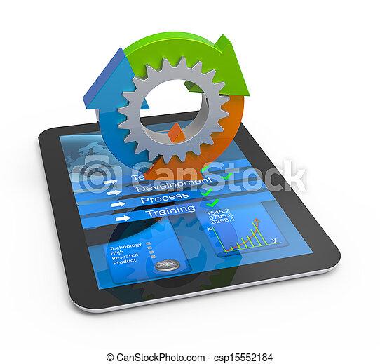 Educación y concepto de aprendizaje - csp15552184