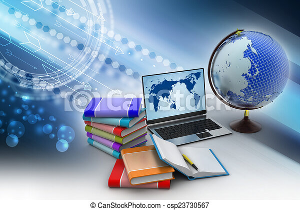 concepto, educación - csp23730567