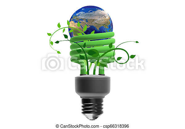 Concepto de eficiencia energizante - csp66318396