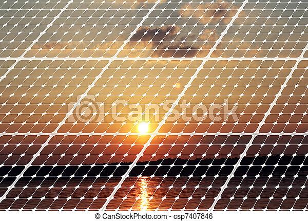 Concepto de energía - csp7407846