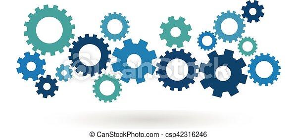 El concepto de mecanismo de marcha - csp42316246
