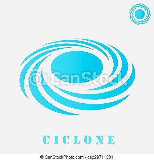 concepto, espiral, tormenta - csp29711381