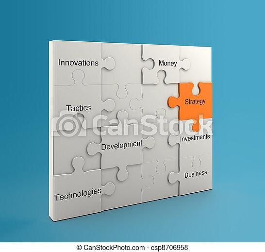 El concepto de estrategia - csp8706958