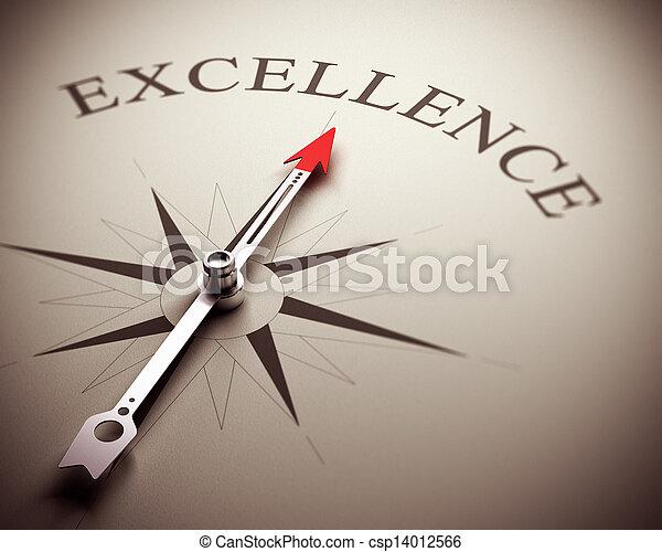 El concepto de excelencia empresarial - csp14012566