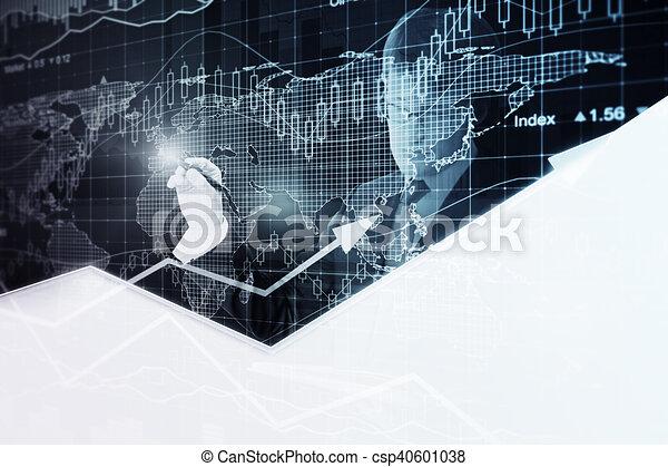 El concepto de crecimiento financiero - csp40601038
