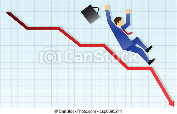 Concepto de negocios, fracaso - csp6895211