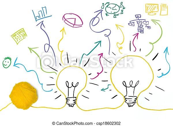 Idea e innovación - csp18602302