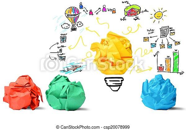 Idea e innovación - csp20078999