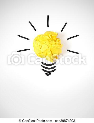Un concepto ideal - csp39874393