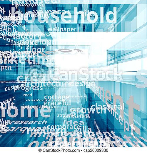 El concepto de Internet - csp28009330