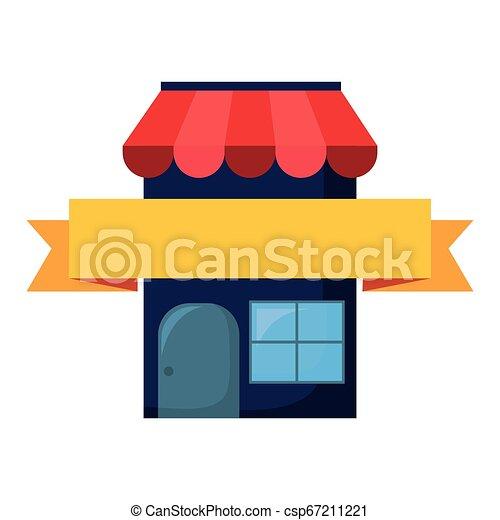 El concepto de compra online - csp67211221