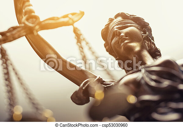 concepto, justicia, imagen, legal, estatua, ley - csp53030960