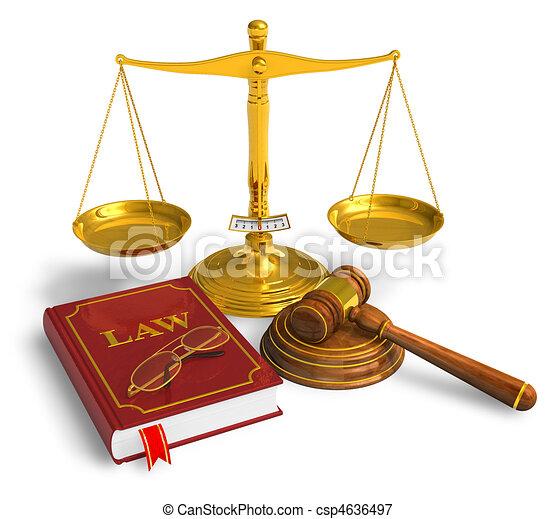 Un concepto legal - csp4636497