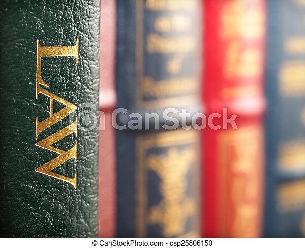 concepto, libro, ley - csp25806150