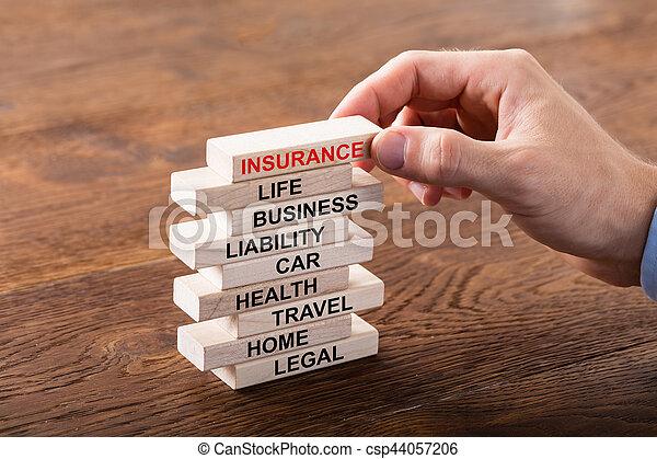 El concepto de seguro - csp44057206