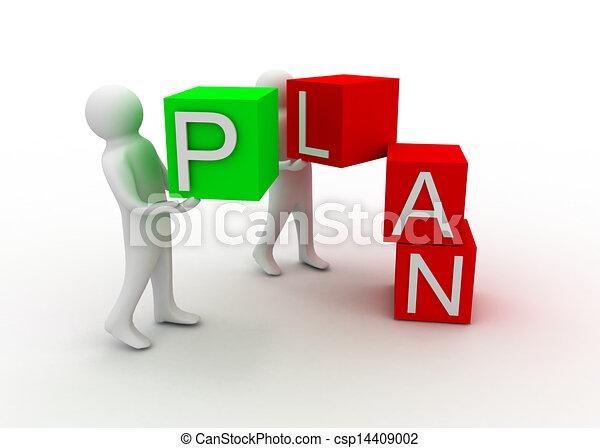 concepto, plan - csp14409002