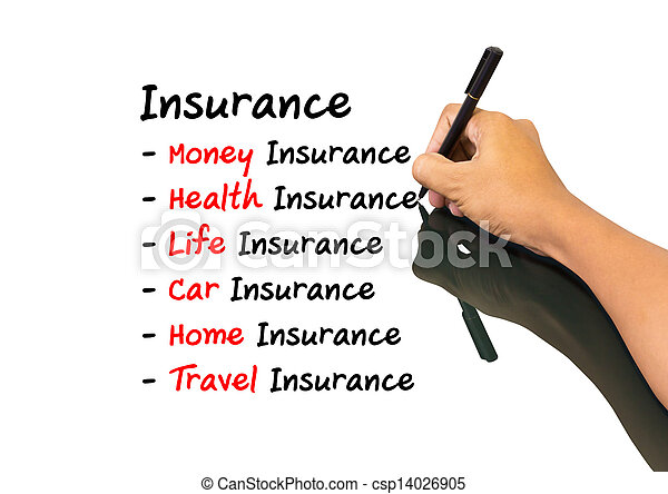 Un concepto de seguro - csp14026905