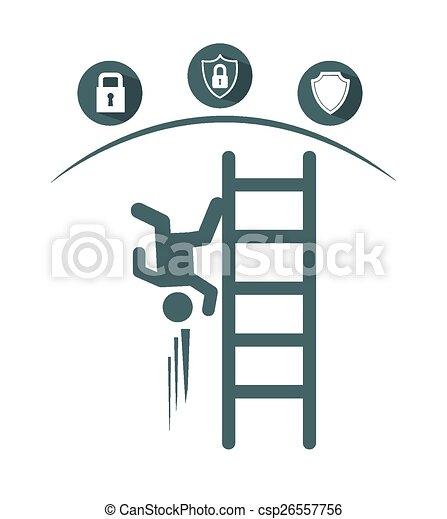Un concepto de seguro - csp26557756