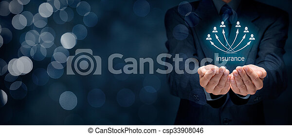 Un concepto de seguro - csp33908046