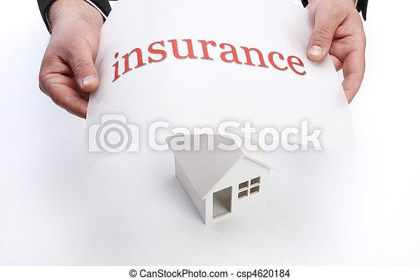 Un concepto de seguro - csp4620184