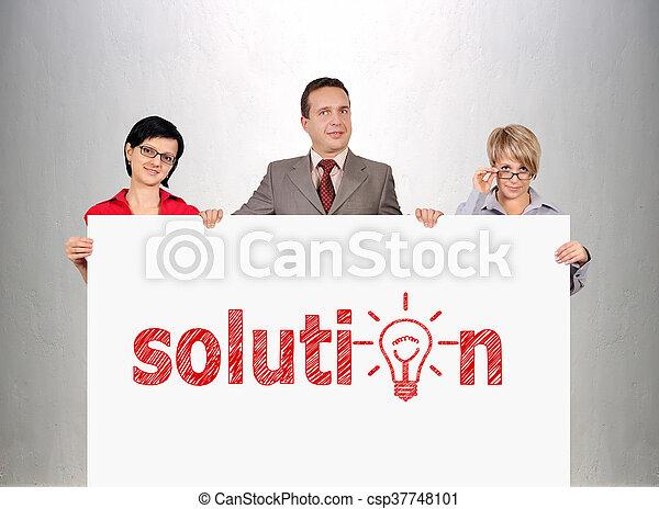 El concepto de solución - csp37748101