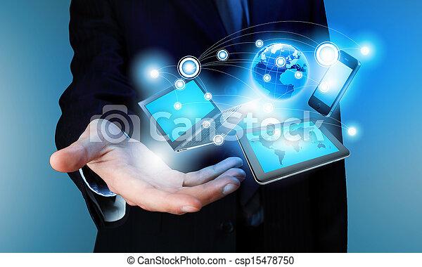concepto, tecnología - csp15478750